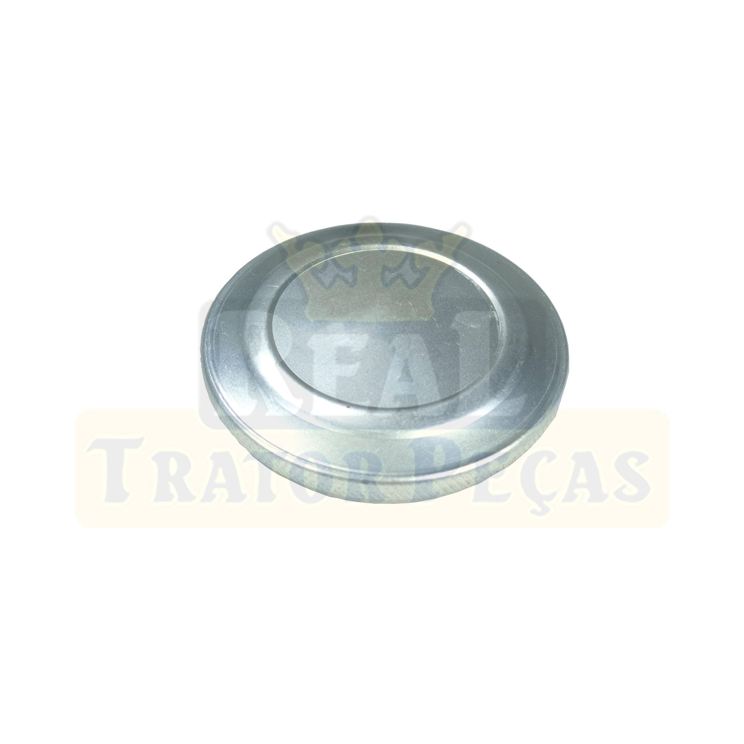 TAMPA TANQUE COMBUSTÍVEL - TRATORES FORD 4610 / 5610 / 6610 / 7610 / 7810 | 4630 / 5630 / 6630 / 7630 | RETROESCAVADEIRA CASE 580H (40MM)