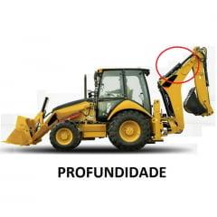 JOGO DE VEDAÇÃO REPARO CILINDRO HIDRÁULICO PROFUNDIDADE - CAT 416E