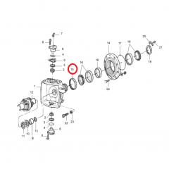 Retentor Cubo 4x4 - ZF 335 / 340 / 345 / 350 / 356 - MASSEY FERGUSON 250 / 265 / 275 / 283 / 290 / 292 / 297 / 299 |  610 / 620 / 630 / 640 | 5275 / 5285 / 5290