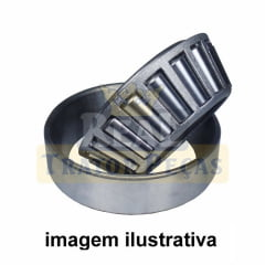 Rolamento Capa Cone - MASSEY FERGUSON  (82,5X125,5X26,5 27687/620)