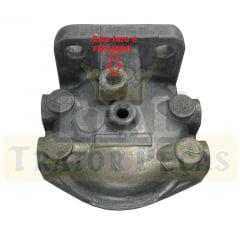 Cabeçote Filtro Sedimentador - TRATOR MASSEY FERGUSON 265 / 275 / 290 / 295 / 296 - RETROESCAVADEIRA MAXION 750 (rosca 1/2)