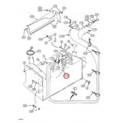 Boia Tanque Combústivel – CASE 580L