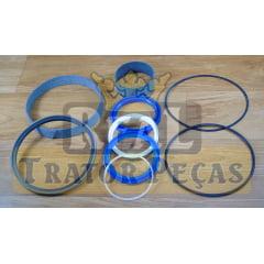 JOGO DE VEDAÇÃO REPARO CILINDRO HIDRÁULICO LEVANTE TRASEIRO - NEW HOLLAND B90B / B95B / B110B
