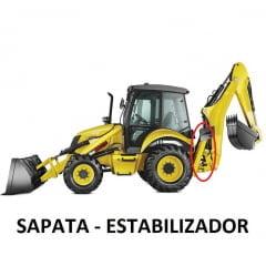 JOGO DE VEDAÇÃO REPARO CILINDRO HIDRÁULICO ESTABILIZADOR SAPATA - FB80.3 / FB100.3 | LB90 / LB110 antes de 2005