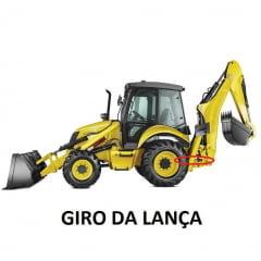 GAXETA CILINDRO HIDRÁULICO GIRO DA LANÇA - NEW HOLLAND B90B / B95B / B110B