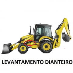 JOGO DE VEDAÇÃO CILINDRO HIDRÁULICO LEVANTE DIANTEIRA - NEW HOLLAND LB90 / LB110 (APOS 2006)