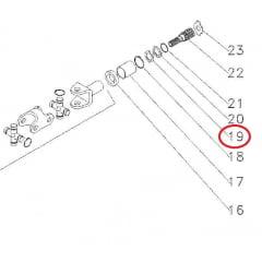 ARRUELA EIXO SOLAR - TRAÇÃO ZF APL335 / 345 / 350 - MASSEY FERGUSON 250 A 299 / 610 A 650 / 5275 A 5290 | VALTRA 600 A 1180 - BL77/ BL88 - BM85 A BM125 | NEW HOLLAND 7630/7830/8030 | JOHN DEERE 5403 A 5705/6300 A 6605 | AGRALE BX
