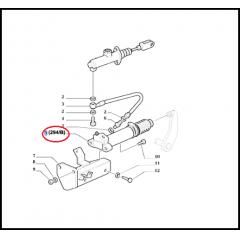 CILINDRO AUXILIAR EMBREAGEM - NEW HOLLAND TM110 / TM120 / TM130 / TM140 - FORD 8430 / 8630 / 8830
