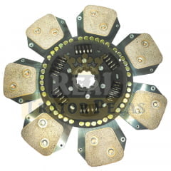 DISCO EMBREAGEM SIMPLES - NEW HOLLAND 8030 - TS90 / TS100 / TS110 / TS120  / TS130 - TS6000 / TS6020 / TS6030 / TS6040 (LUK - NOVO - ORIGINAL)