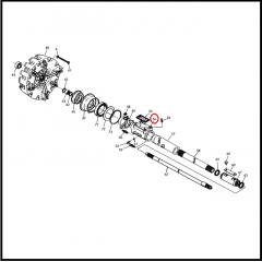 Guia Embreagem Dupla – VALTRA 685 / 785 / BF65 / BF75 / BL77 / BL88
