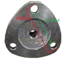 Pivo Tração 4X4 – NEW HOLLAND TL65 / TL70 / TL75 / TL80 / TL85 / TL90 / TL95 / TL100 (CUBO MENOR)