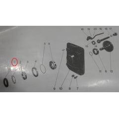 Porca SKF Tomada de Força TDF - VALMET 62 / 65 / 68 / 78 / 88 / 86 VALTRA 685 / 785