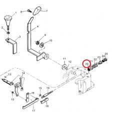 Retentor Alavanca do Hidráulica- VALTRA 685/785/885/985 - BM85 / BM100 / BM110 / BM120 / BM125i - BF65 / BF75