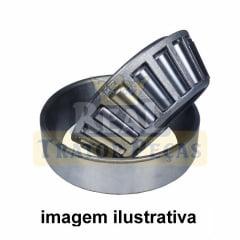 Rolamento Capa Cone - Cubo de Roda 4x2 - MASSEY FERGUSON 50X / 65X   235 / 250 / 265 4X2 (MENOR)