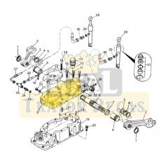 Tampa Carcaça Elevador do Hidráulico – VALTRA 685 / 785 / BF65 / BF75