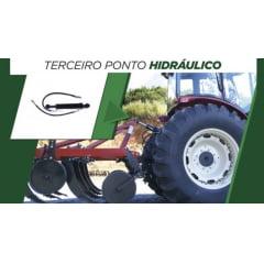 TERCEIRO PONTO HIDRÁULICO (PISTÃO 3º PONTO) - FORD 5610 / 6610 | VALTRA A750 / A850 / A950 | BL77 | AGRALE 5754 / BX4110 / BX4140 | JOHN DEERE 6405 / 6415 (530MM X 740MM)